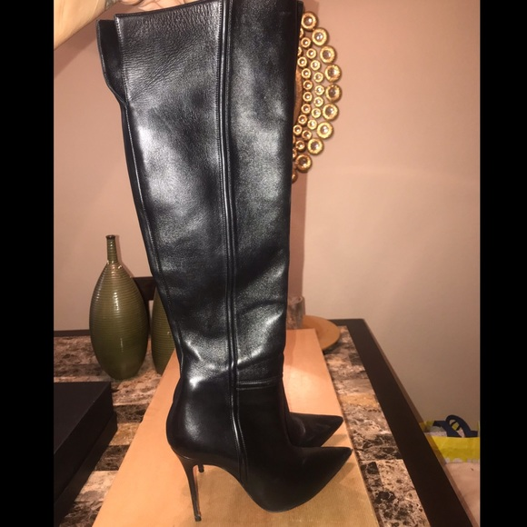 info for e66f9 d9a97 Christian Louboutin Armurabotta Thigh High Boots